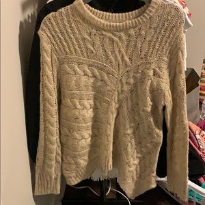 Fabric Sweater